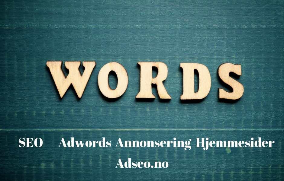 ordliste online markedsføring